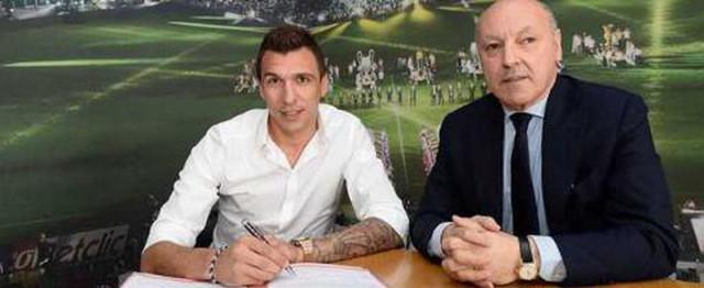 Mandzukic Resmi Gabung Juventus
