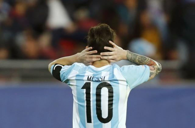 Messi Matian-matian demi Copa America