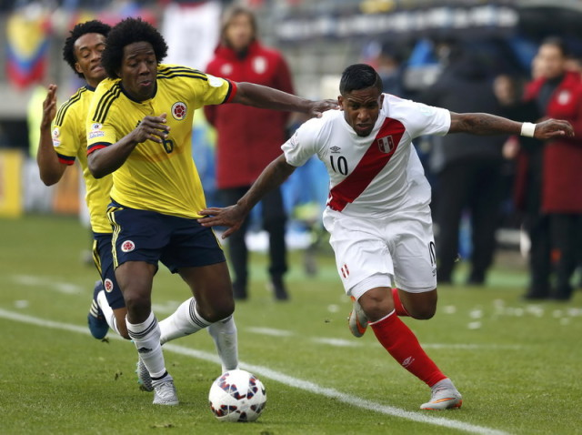 Peru ke Perempatfinal Usai Tahan Kolombia