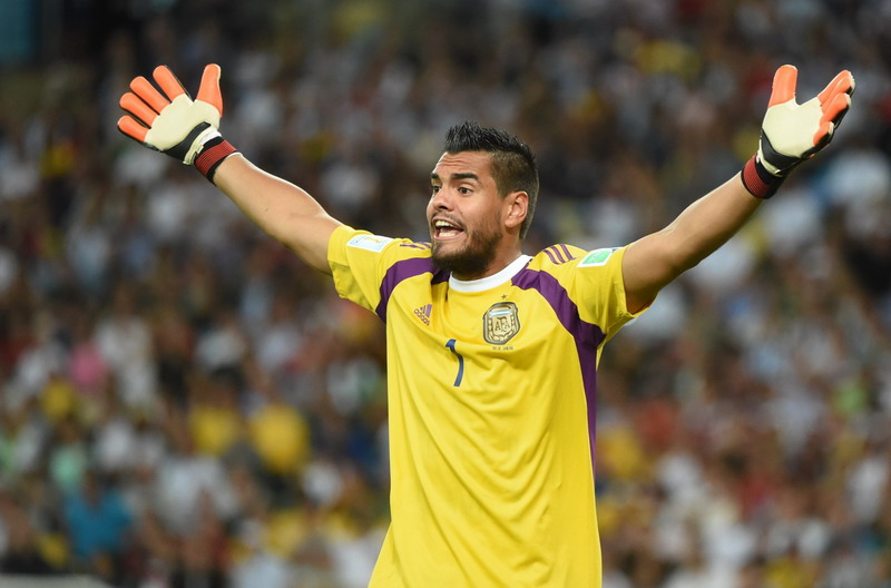 united dapat kiper andalan argentina BqPt9b2A45 Mu Dapatkan Sergio Romero