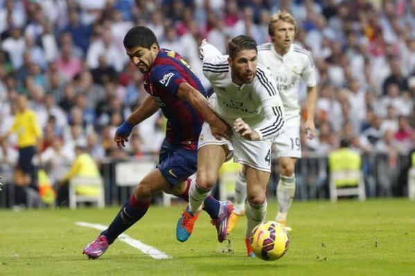Barcelona : Suarez Sebut Ramos sebagai Lawan Terberatnya