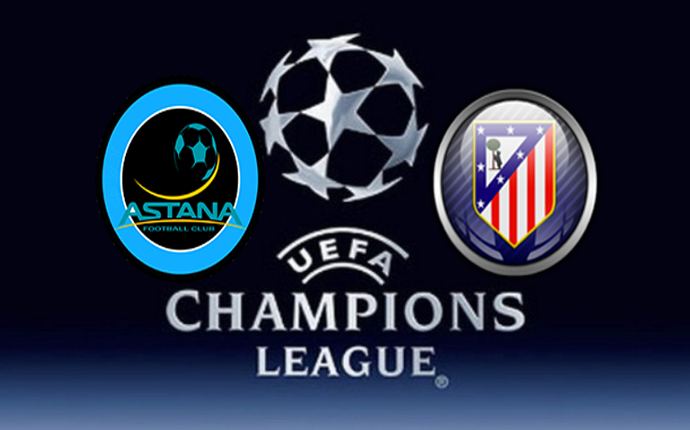 astana Liga Champions : Prediksi Akurat Fc Astana Vs Atletico Madrid 03 November 2015