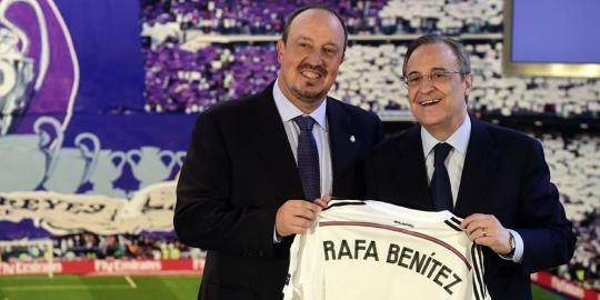 Perez sanjung kinerja Benitez di Madrid