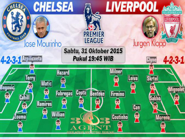 Prediksi Chelsea vs Liverpool: Nasib Jose Mourinho