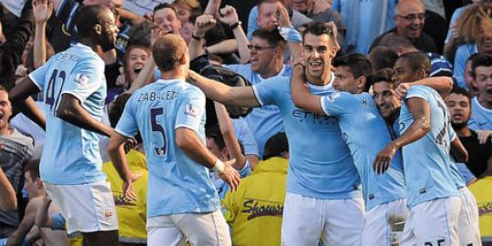 review the citizens birukan derby manchester 20130923010011 Liga Inggris : City Ingin Selama Mungkin Duduki Puncak Klasemen