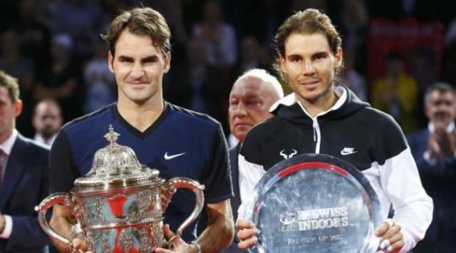 Juarai Swiss Indoors, Federer Patahkan Rekor Buruk atas Nadal