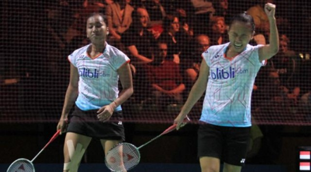 Della / Rosyita Pijak Perempat Final Korea Masters