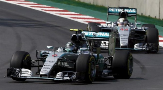 Kalahkan Hamilton, Rosberg Juarai F1 GP Meksiko
