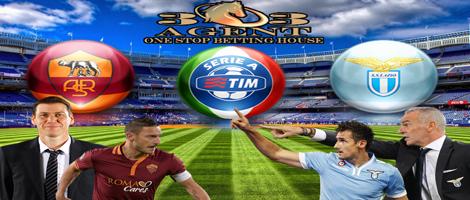 303agent – Pertandingan SepakBola Liga Italy Roma vs Lazio 8 November 2015
