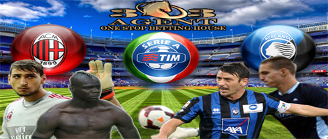 303agent – Pertandingan SepakBola Liga Italy Milan vs Atalanta 8 November 2015